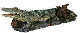 8716 Декоративный крокодил фото