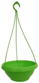 Кашпо Лотос, D 270мм, 3.6л, 270х140х110, салатовый фото