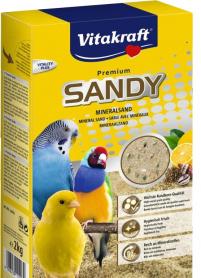 Наполнитель для клеток птиц, песок Био Санд, 2 кг, 11003 фото