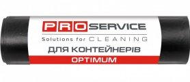 Пакеты для мусора OPTIMUM, черные 90х125, 240л/5шт, PRO service, 16120300 фото