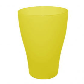Стакан 0,5л ТМ Алеана (желто-прозрачный), 3814 фото