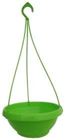 Кашпо Лотос, D 240мм, 2.6л, 240х140х100, салатовый фото