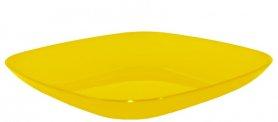 Тарелка 190*190*28 ТМ Алеана, 0,5л (желто-прозрачная), 2162 фото