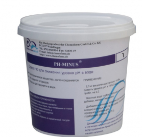Средство для ухода за водой, pH-Regulator Minus, гранулят, 1кг, Лайнэкс фото