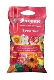 Субстрат Флорин, 3л, для троянд фото