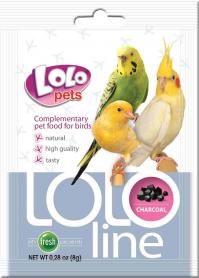LO-72041 'Lolopets'Lololine уголь для птиц 10 гр фото