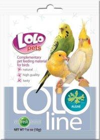 LO-72042 'Lolopets' Lololine водоросли для птиц 10 гр фото