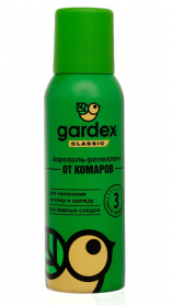 Аэрозоль-репелент от комаров Gardex Classic, 100мл, 0134 фото