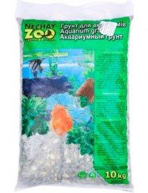 Грунт аквариумный черн/бел средний 5-10 мм 10 кг фото