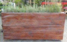 Кашпо деревянное 300х1100х500 фото