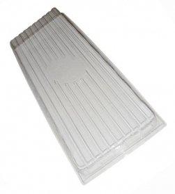 Крышка пластиковая (эффект теплички), ВЛ, 440х205х70 фото