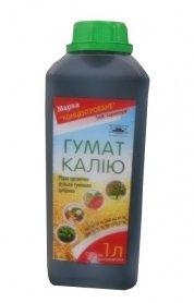 Органическое удобрение Гумат Калия, 1л, Марка 'Концентроване' фото