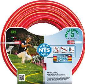 Поливочный шланг NTS RED 19мм (3/4'), 50м, Аквапульс фото