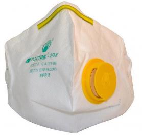 Респиратор Росток с клапаном 3ПК, желтый, DR-0005-5564 фото