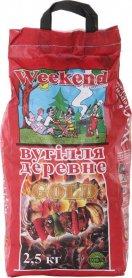 Уголь древесной ТМ 'Weekend-Gold', 2,5кг фото