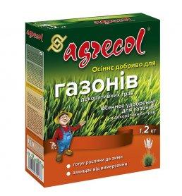 Комплексное минеральное удобрение для газонов Agrecol (Агрекол), 0.8.30, 1.2кг, Осень фото
