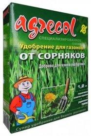 Комплексное минеральное удобрение для газонов от сорняков, 1,2кг, NPK 15,5.0.0, Agrecol (Агрекол), 30202 фото