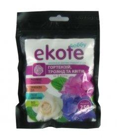 Комплексное минеральное удобрение для гортензий, роз и цветов 3м, 250г, Ekote фото