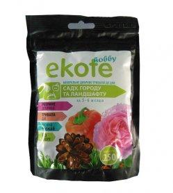 Комплексное минеральное удобрение для сада,огорода и ландшафт 5-6м, 250г, Ekote фото