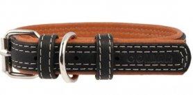 7190 Ошейник 'CoLLaR SOFT' черный верх (шир.20 мм, дл.30-39см) фото