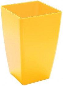 Горшок цветочный , Mimosa d-15cv самоувлажняющийся (желтый) фото