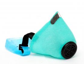 Респиратор У2К, флизелин, голубой, 0000-0042 фото