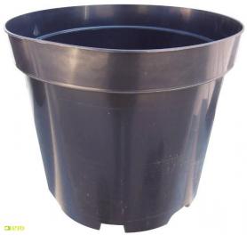 Горшок для рассады, Fs26, 7.5 л, 245x215, черный, Kloda (Клода) фото