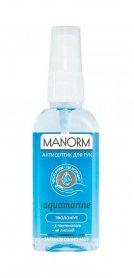 Антисептик для рук МАНОРМ Aquamarine, 50мл фото