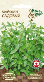 Семена майорана Садовый, 0.2г (Семена Украины Нота Вкуса) фото