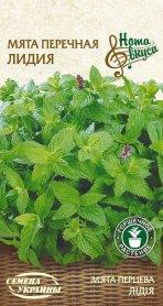 Семена мяты перечной Лидия, 0.1г (Семена Украины Нота Вкуса) фото