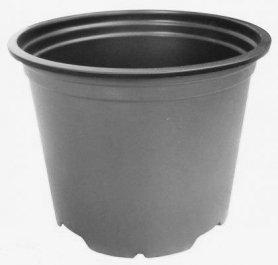 Горшок для рассады, 0.69л, черный, 120х89, Модиформ (Мodiform) фото