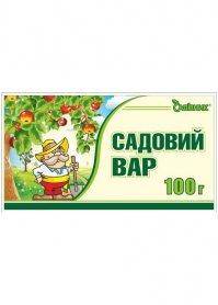Садовый вар Садовник брикет, 100г фото