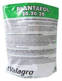 Комплексное минеральное удобрение для роста плодов Plantafol (Плантафол), 1кг, NPK 20.20.20, Valagro (Валагро) фото