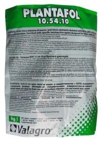 Комплексное минеральное удобрение для цветения и бутонизации Plantafol (Плантафол), 1кг, NPK 10.54.10, Valagro (Валагро)