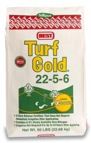 Комплексное минеральное удобрение Turf Gold (Тюрф Голд), 22.7кг, NPK 22.5.6, Весна-Лето, Simplot (Симплот) фото