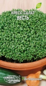 Семена кресс-салата Весть, 1г, Семена Украины фото