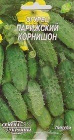 Семена огурца Парижский корнишон, 1г, Семена Украины фото