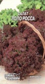Семена салата листового Лоло Росса, 1г, Семена Украины фото