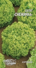 Семена салата листового Снежинка, 1г, Семена Украины фото