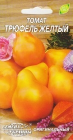 Семена томата Трюфель желтый, 0.2г, Семена Украины фото