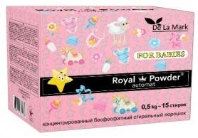 Бесфосфатный стиральный порошок для детских вещей, 0.5кг, Royal Powder фото