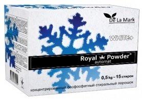 Бесфосфатный стиральный порошок для белых вещей, 0.5кг, Royal Powder фото