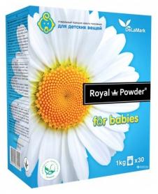 Бесфосфатный стиральный порошок для детских вещей, 3кг, Royal Powder фото