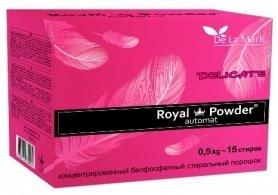 Бесфосфатный стиральный порошок для шерсти и шелка, 0.5кг, Royal Powder фото