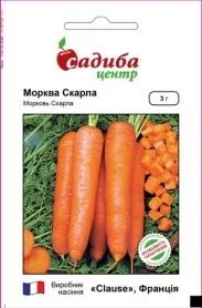 Семена моркови Скарла, 3г, Clause, Франция, семена Садиба Центр фото