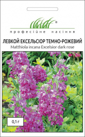 Семена маттиолы Эксельсиор темно-розовая, 0.1г, Hem, Голландия, Професійне насіння фото