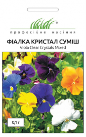 Семена фиалки Кристал смесь, 0.1г, Hem, Голландия, Професійне насіння фото