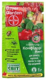 Инсектицид Конфидор Макси, 1г, Bayer (Байер) фото