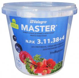 Комплексное минеральное удобрение Master (Мастер), 1кг, NPK 3.11.38+4, TM ROSLA (Росла) фото