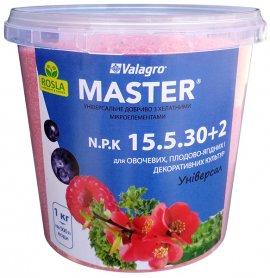 Комплексное минеральное удобрение Master (Мастер), 1кг, NPK 15.5.30+2Mg, TM ROSLA (Росла) фото